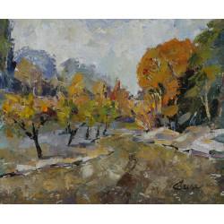 13-Árboles en otoño,...